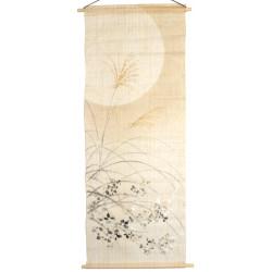 Set of 5 traditional Japanese sake cups, WAGARA, daruma patterns