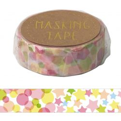 Masking Tape - CANDY COLOUR WASHI TAPE - Pop