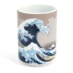 Japanese porcelain incense holder - HATSUHARU - New spring