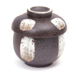 Japanese porcelain incense holder - TSUKIMI - Moon Viewing