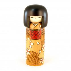 Small rectangular Japanese plate in raw ceramic, brown - PEINTOCHIPU