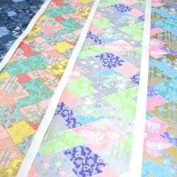 Oval bamboo coaster -...