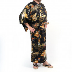 Yukata for men in cotton -...