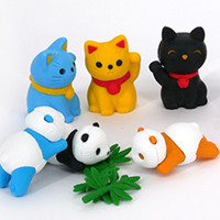 Discover our selection of cute Japanese erasers.