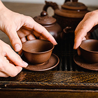 Selection of Japanese cups